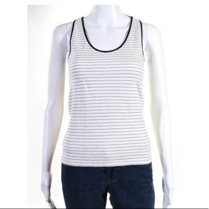 The row striped tank size S